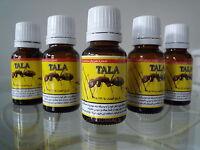 5 X Tala Ant Egg Oil 20 Ml Organic Hair Reduceing