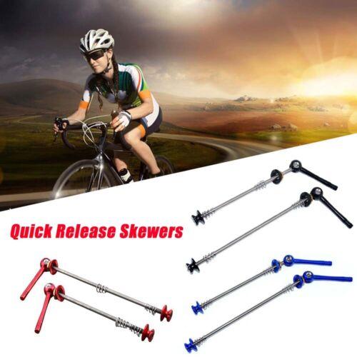 1 Pair Super light Road MTB Bike Ti Titanium Quick Release Skewers