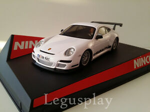 Scx-Scalextric-Slot-Ninco-50446-Porsche-997-Roadcar-White