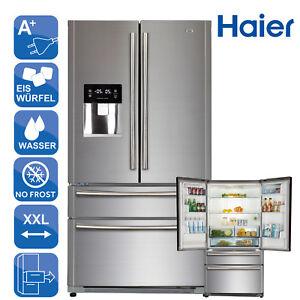 Details zu FrenchDoor Kühlschrank Kühl-Gefrierkombination A+ Haier  HB22FWRSSAA Eis Wasser