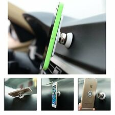 360° Rotating Magnetic Universal Car Mount Stand Holder Kit For Phone GPS Tablet