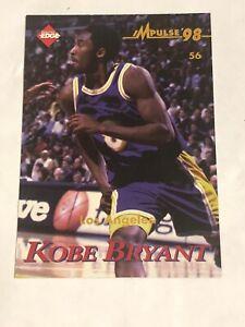 ERROR CARD? 1998 Kobe Bryant Collectors Edge Impulse 98 Card LA lakers