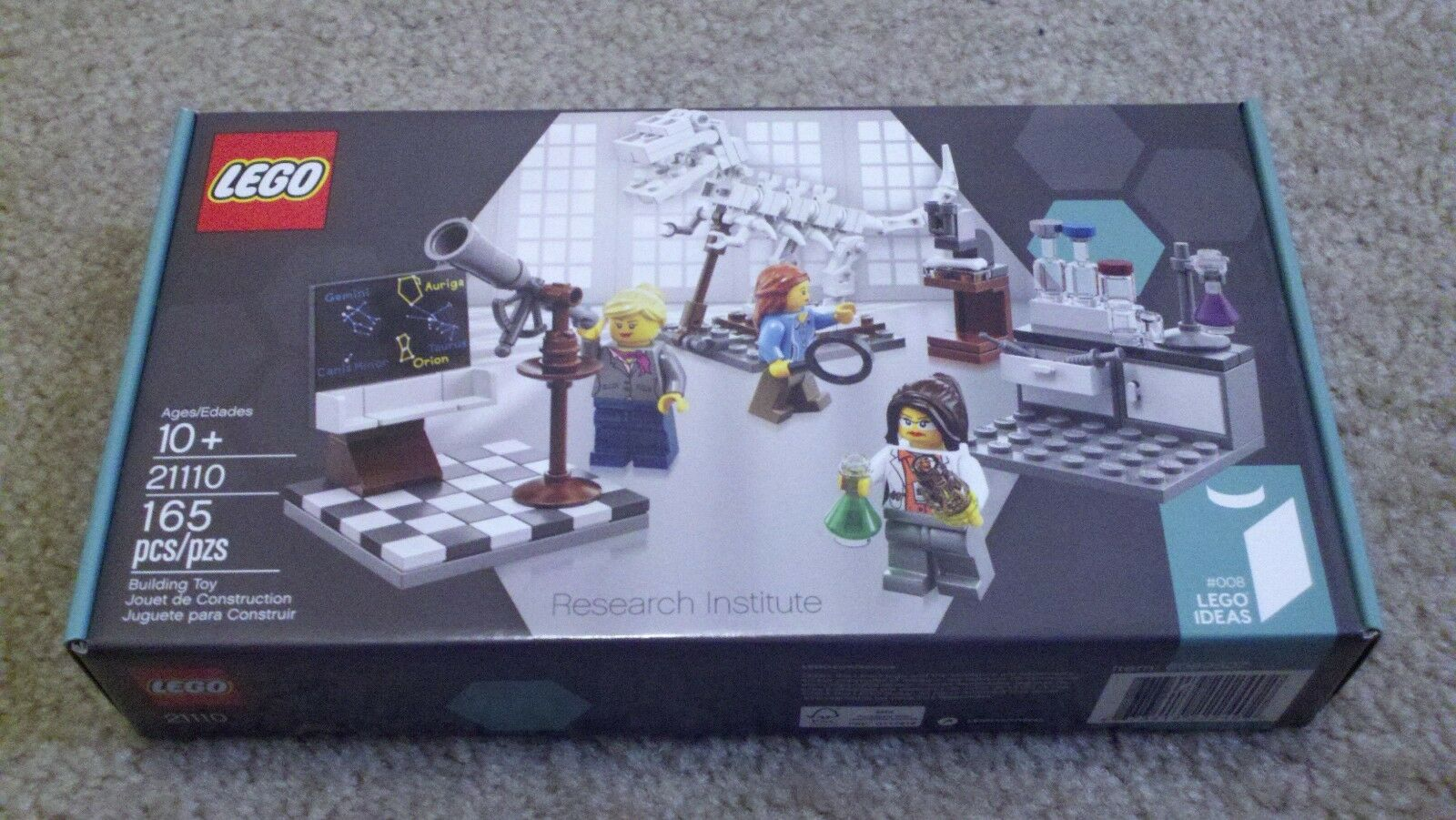 LEGO LEGO LEGO IDEAS Research Institute (21110) - New & Sealed 029020