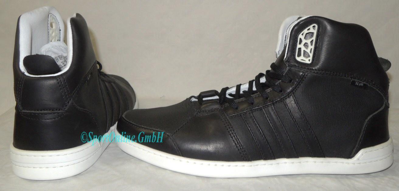 NEU adidas SLVR Hoops Mid Neo Größe 42 2/3 Sneaker Schuhe Boots G46315 TOP