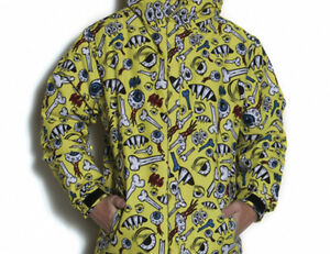 Image Is Loading 686 Boys Snaggletooth Operation Snowboard Jacket L Celery