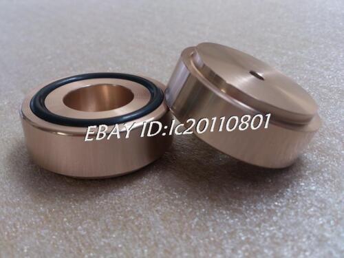 ZM 4pcs gold Aluminum feet//foot pads for amplifer//dac D:44mm H:17mm model B