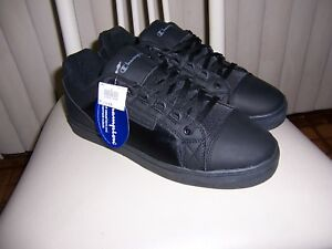 all black champion shoes