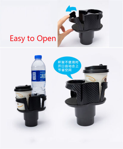 1x Universal Car Cup Holder Center Console Mount Water Bottle Mug Drink Holders