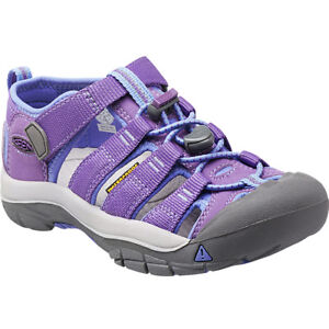 8aee7fbb5b51 Image is loading Keen-Newport-H2-Kids-Girls-Sandals-Purple-Heart-