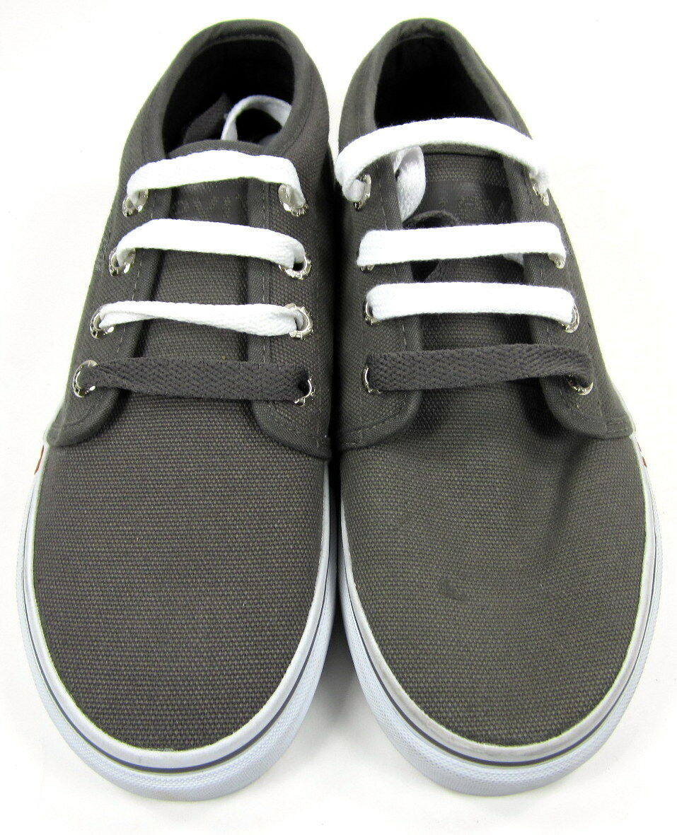 Levi's Chaussures Evan Canvas Low Lace Up Gris /blanc Sneakers Sneakers /blanc fdcc38