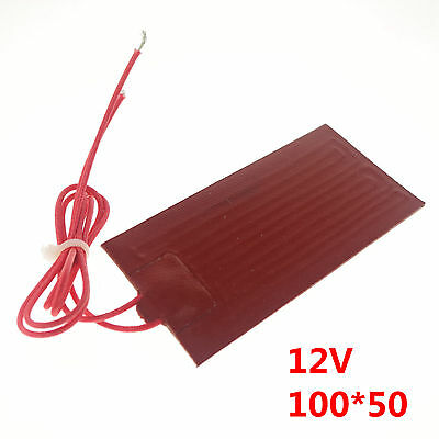 12V 20W 100mm*50mm Silicon Band Drum Heater Oil Biodiesel Metal Barrel x 1