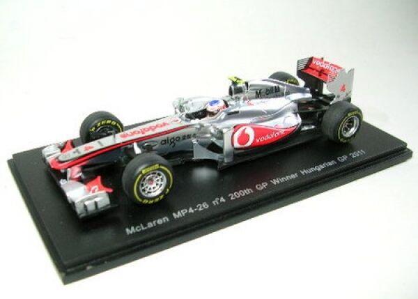 Invincible pour forcer le groupe groupe groupe à acheter aucune livraison à des prix abordables McLaren mp4-26 No. 4 Janson Button winner Hungarian Gp 2011 | Belle Et Charmante  3f0fbc