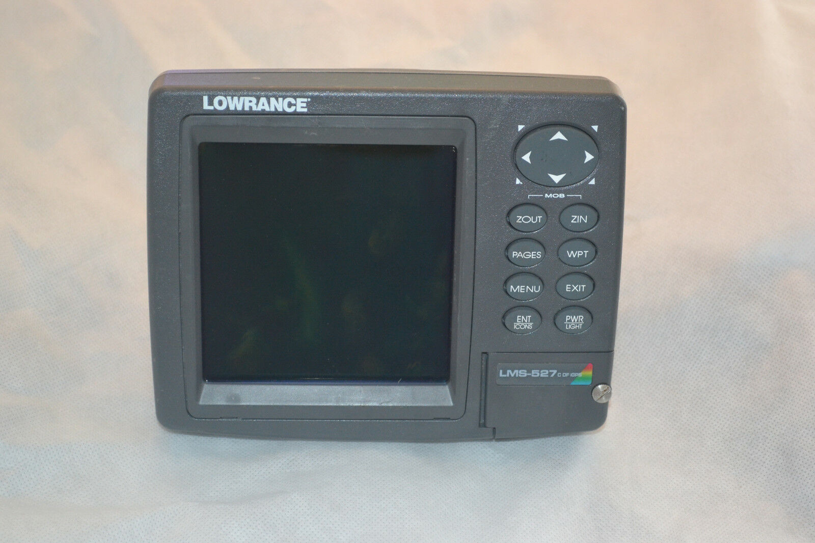 Lowrance LMS-527C DF iGPS built-in antenna GPS Fish finder (Only head & cover)