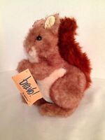 Bravo By Applause Jezebel Squirrel Plush Toy Doll 1989