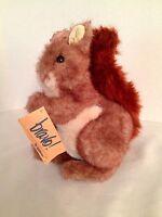 Bravo By Applause Jezebel Squirrel Plush Toy Doll 1989