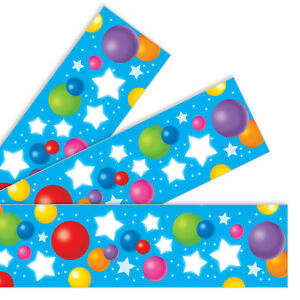 Celebration Party Bolder Borders Trim - Great For School Classroom Displays 11m