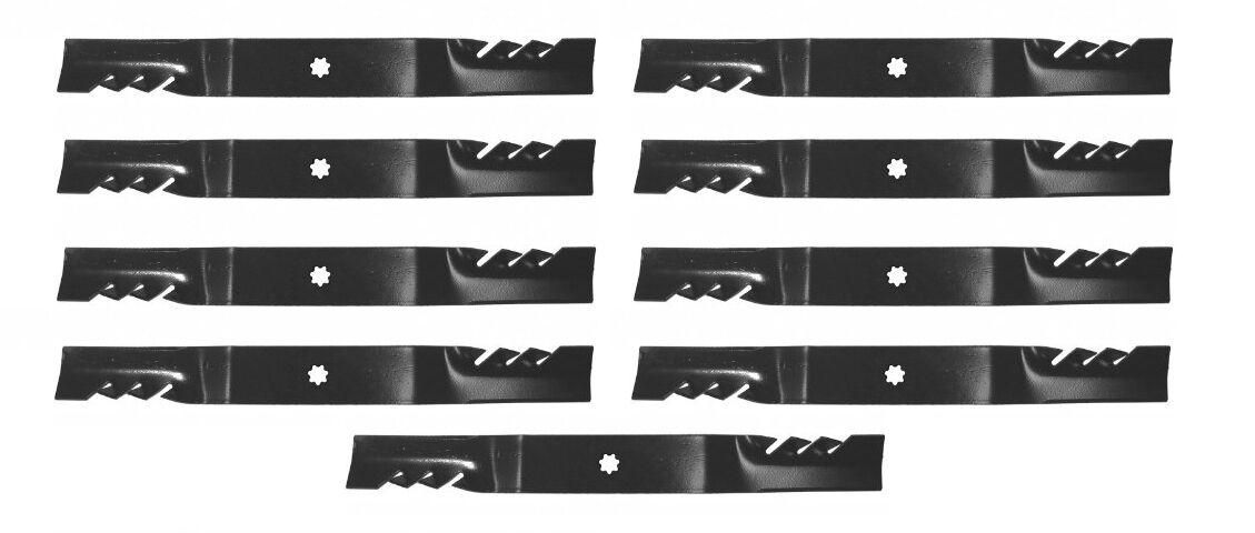 9 mantillo de hojas de 48  John Deere gy20852 X140, D140, D150, D160