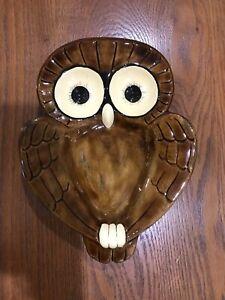 Vintage-Ceramic-Owl-Spoon-Rest
