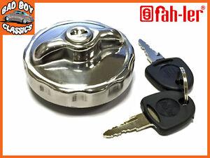 Locking Fuel Tank Cap de acero inoxidable encaja VW Camper
