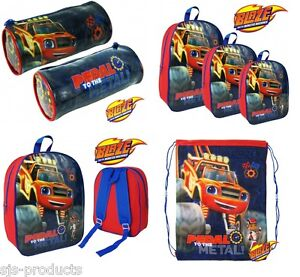 Image Is Loading BLAZE Boys Kids Girls School Backpack Gym Lunch