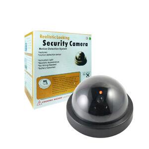 1x-Dummy-Fake-Surveillance-CCTV-Security-Dome-Camera-with-LED-Light-Flashing