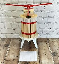 6, 12, 18 Litre Fruit, Apple/Cider Press & Straining Bags Scratter/Pulp Bucket