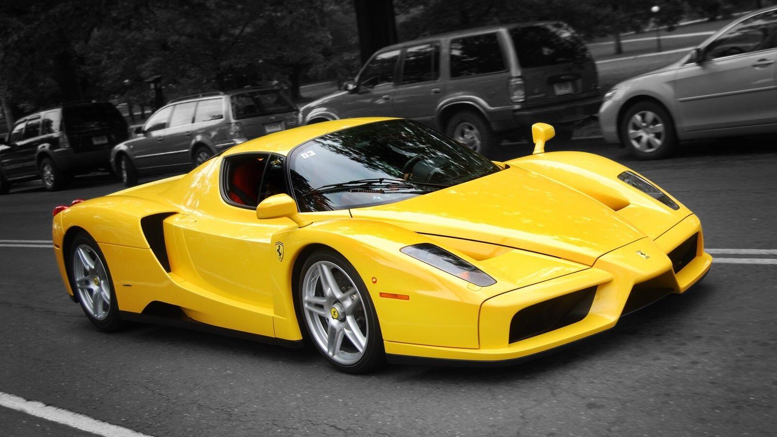 1 Ferrari F1 Racing GT SPORT RACE CAR 12 exótico 43 Racer 24 carrusel amarillo 18