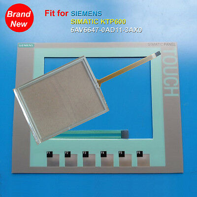 Touch Digitizer Glass Membrane Keypad for SIEMENS KTP600 6AV6647-0AB11-3AX0
