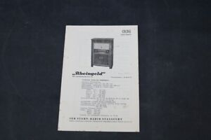 Age Print Stern Radio Rheingold RFT Old Vintage GDR Advertising