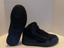 linda No de moda biología  Nike Jordan Executive Mens 820240-010 Black Casual off Court Shoes Size 13  for sale online   eBay