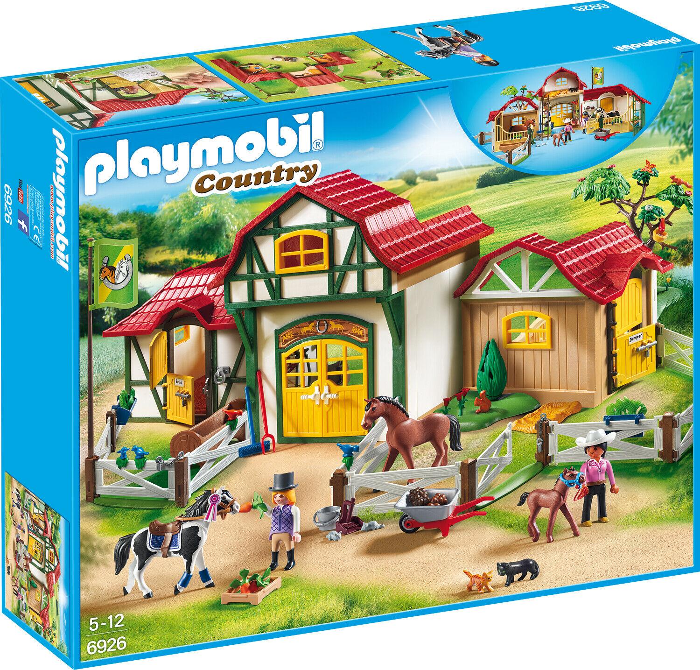 PLAYMOBIL ®  Country 6926 gree reiterhof  consegna gratuita