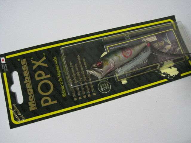 Megabass ito POPX GLX AKAME color Windy Side 10th ANNIVERSARY NIP    POP-X