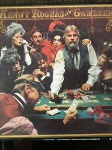 Kenny Rogers The Gambler poker R 142854 UAMARG LP Album ...