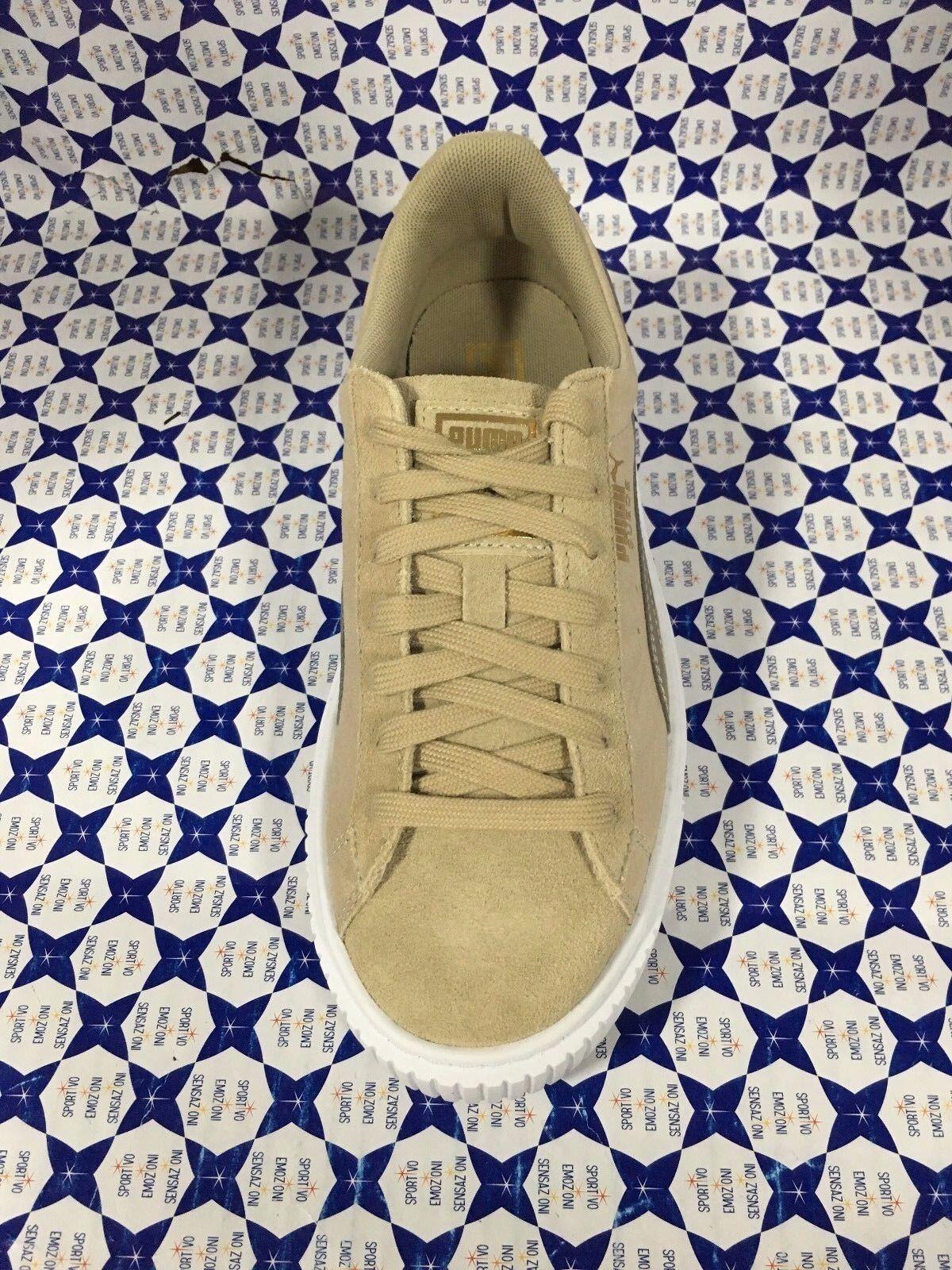 Zapatos PUMA mujer SCONTATE   Basket Platform Platform Platform Core - Beige - 364594 c394f3