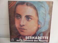 RENE LAURENTIN Bernadette ou la Sainteté des pauvres Disque du centenaire 300136
