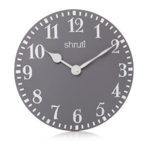 Country-Style-Shruti-Ash-Dark-Grey-White-Wall-Hanging-Kitchen-Round-Clock