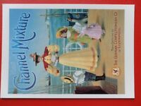 POSTCARD  ART ADVERT - NEW CHANNEL MIXTURE THE GERMAN CONFECTIONERY CO