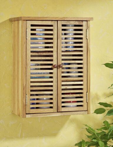 Badmöbel Hängeschrank Badezimmer oder Saunabereich Hochschrank Walnussholz