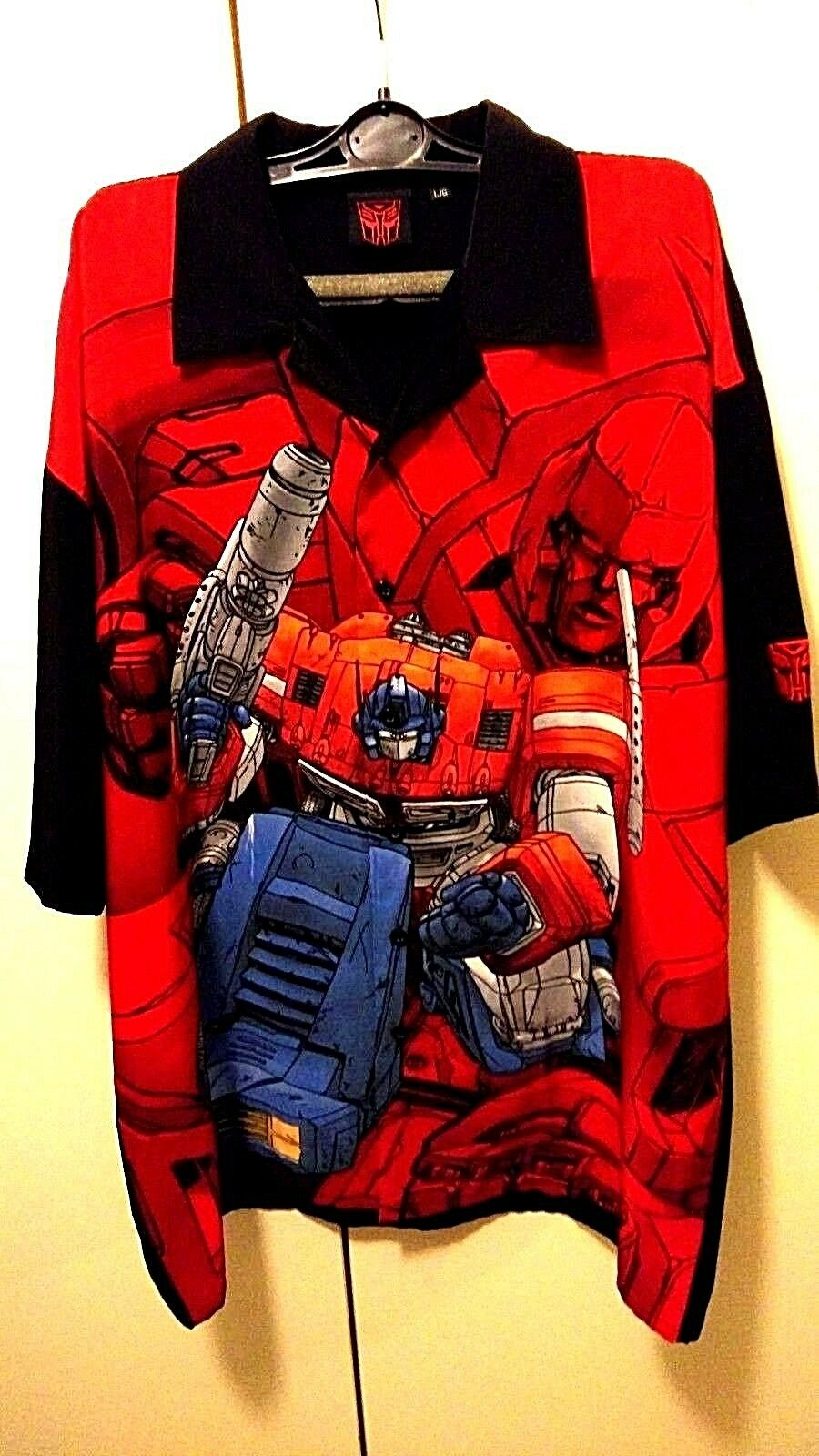 Transformers Optimus Prime Shirt size XL NEW with tags