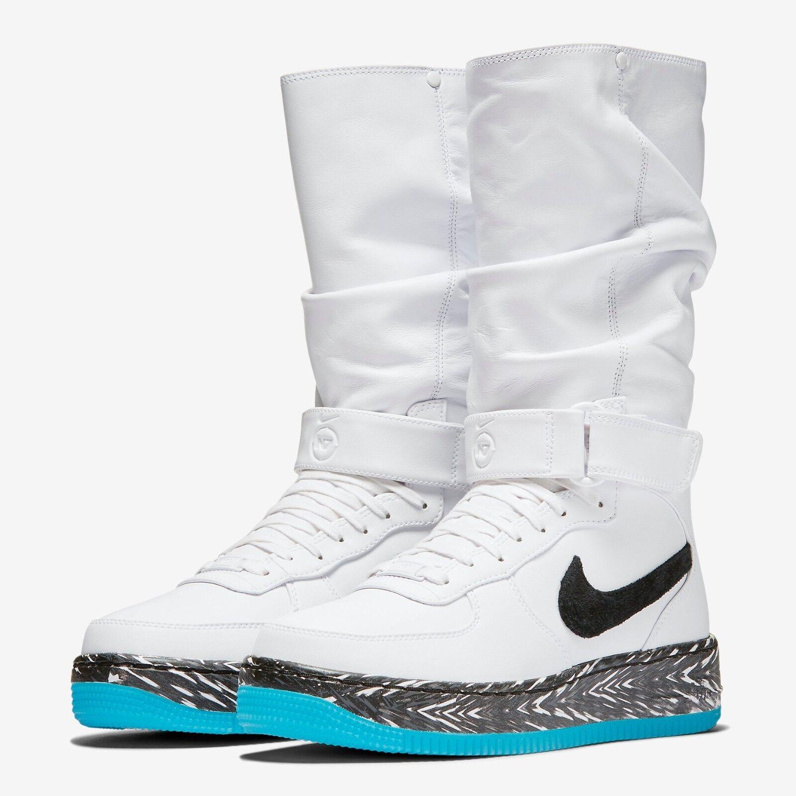 Women's Nike AIR FORCE 1 UPSTEP WARRIOR N7 Sneakerboot, 873308 103 Sizes 5.5-11