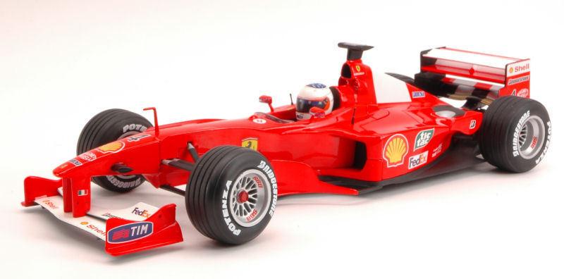 Ferrari Ferrari Ferrari F1 2000 Rubens Barrichello 2000 1 18 Model 26738 HOT WHEELS 57b525