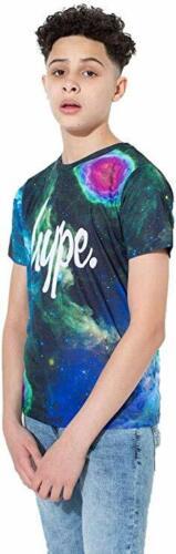 Hype Boys Junior Kids Cosmic Vision T-Shirt Multi