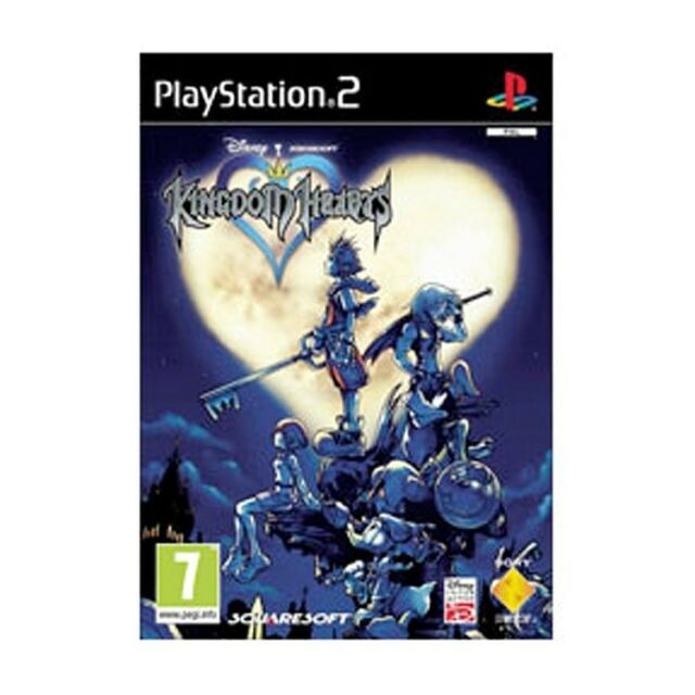 Brand New Sealed Kingdom Hearts Video Game For Sony PS2 Console
