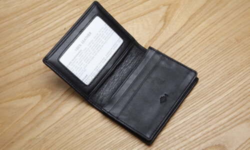 LAN men/'s  leather  name card case high quality fashion woven business card case