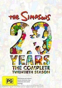 The-SIMPSONS-The-COMPLETE-Season-20-DVD-TV-SERIES-BRAND-NEW-4-DISCS-BOX-SET-R4