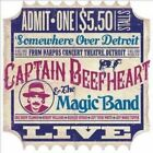 Somewhere Over Detroit: Live from Harpo's Concert Theatre 1980 by Captain Beefheart & the Magic Band (CD, May-2014, Gonzo Multimedia)