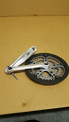 Kurbelgarnitur 3-Fach 28/38/48 Zähne 170mm Kurbel Vierkant