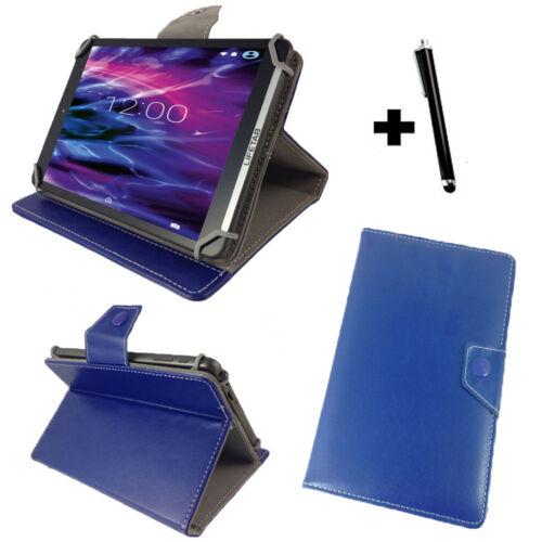 10.1 Pollici Tablet PC CUSTODIA GUSCIO PROTETTIVO ASTUCCIO-Xoro TelePAD 10a3-Blu 10