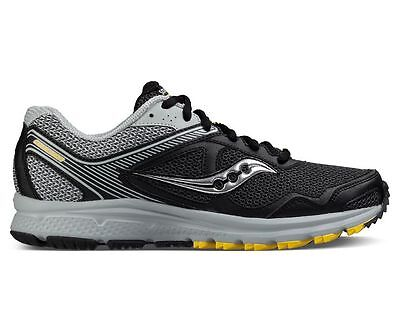 New Saucony Cohesion TR10 Mens Trail Running Shoe// S25339-1 Black-Gray-Yellow