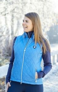 Radient **reduced** Covalliero Chantel Gilet/bodywarmer Light Blue Uk8 Or Uk10 Rrp~£45 Low Price Sporting Goods